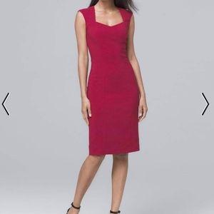 NWOT WHBM sheath dress size 12